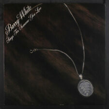 BARRY WHITE: Sings For Someone You Love LP (gatefold cover, die-cut locket inta