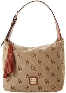 Dooney & Bourke Women's Classic Logo Maxi Quilt Paige Sac Bag, Natural, 8172-7