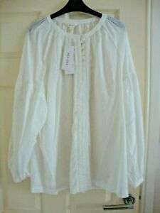 PER UNA BALLOON SLEEVES LONG BLOUSE SIZE 20 BNWT