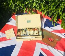Vintage Winsor And Newton Students Oil Paint Box Set