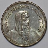 Switzerland 1940 5 Francs 195647 combine shipping
