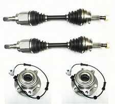 For Nissan Navara D40 / Pathfinder 2.5DCi Drive Shafts + Wheel Hub Bearings MTM