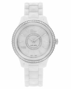 Dior Dior Viii Diamond Ceramic Automatic Ladies Watch CD1245E9C001, MSRP $13,900