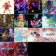 New! Doujin PC game Touhou Project Series 14 games Team Shanhai Alice Japan F/S