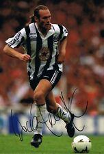 Signed Darren Peacock Newcastle United Autograph Photo + Proof The Entertainers