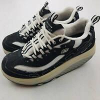Skechers Womens Shape Ups Walking Sneakers Black 11809 Low Top Shoes 7.5 M
