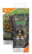 Mega Construx Teenage Mutant Ninja Turtles Michelangelo Mutagen Canister