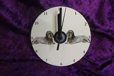 W/H Dachshund CD Clock by Curiosity Crafts