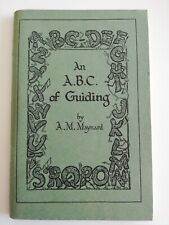 More details for vintage 1936 an a.b.c of guiding book a.m maynard girl guide association