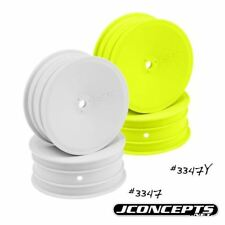 J Concepts - Mono - B4.1 / RB5 - 12mm Hex Front Wheel (White) - 4pc