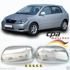 Chrom Spiegelkappen für Toyota Corolla Bj. 2000-2003