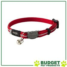 Rogz Alleycat Safeloc Collar For Cats Red XSmall 8mm