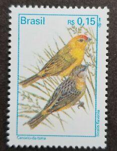 [SJ] Brazil Birds 1995 Fauna (stamp) MNH
