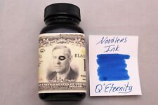 NOODLERS FOUNTAIN PEN INK 3 OZ BOTTLE Q ETERNITY BLACK BLUE