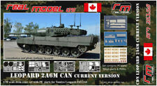 Canadian Leopard 2A6M CAN current version 1/35 Real Model resin RM35158 Tamiya