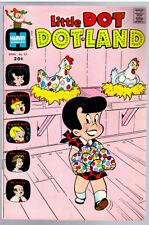 LITTLE DOT DOTLAND #57 in FN condition a 1973 Harvey Bronze Age Comic