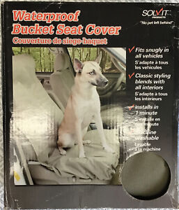 PetSafe Solvit Waterproof Bucket olive Green Seat Cover for Pets