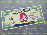 Beverly Hills Cop  3 - Wonder World Novelty $20.00 Bill - Eddie Murphy