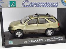 Cararama 1/43 - Lexus RX300 Beige Metal