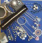 Job Lot Silver Tone Jewellery