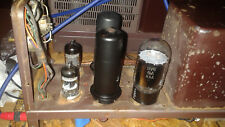 Fisher 80AZ tube amp's,pair,working,upgraded power supply,coupling caps replaced