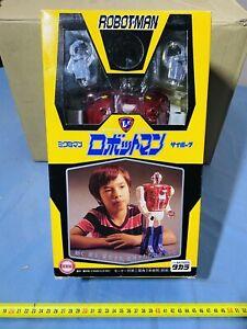 Robotman Takara Microman Cyborg Robot Brand New