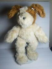 Build a bear plush stuffed animal Dog Brown white tan BABW BAB