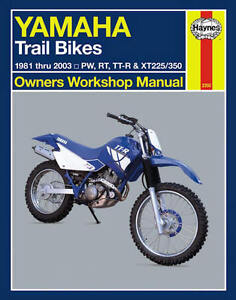 Yamaha Pw50 Motorcycle Repair Manuals Literature For Sale Ebay