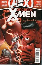 Uncanny X-MEN #11 Juggernaut Red Hulk RARE 2nd Print VARIANT 2011