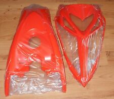 YAMAHA RAPTOR 700 ORANGE FRONT FENDER GAS TANK COVER & NOSE HOOD COVER 13-17