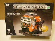 Lincoln Mint Dodge A-990 Hemi Race Engine Testors 455 1/6  Model Kit NIS