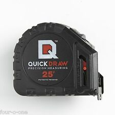 BLOW OUT SALE  NEW QuickDraw 25' Precision Measuring Tape-Contractor Grade