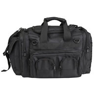 Mil-Tec K-10 Mens Tactical Shooting Police Kit Should Hand Carry Man Bag Black