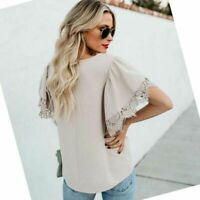 Women casual tops new chiffon t-shirt shirt summer lace Long sleeve blouse