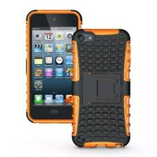 Apple iPod Touch 5 6 Trekking Handy Tasche Skidproof Reifen Tyre Cover Orange