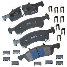 Disc Brake Pad Set-Stop Semi-Metallic Brake Pad Front Bendix SBM934