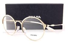 Brand New Prada Eyeglass Frames 54VV 273 Gold Size 51 For Women
