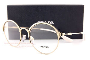 Brand New Prada Eyeglass Frames 54VV 273 Gold Size 51 For Women