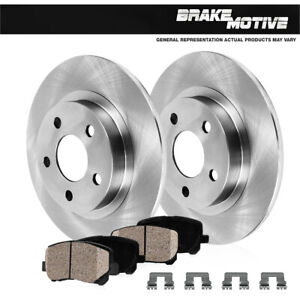 Rear Rotors Ceramic Pads For Chevy Impala Monte Carlo Grand Prix Regal Intrigue