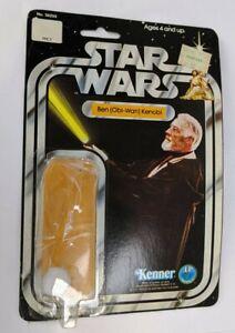 Kenner Star Wars SW Ben Kenobi 12 Back Card Original Bubble Package Backer