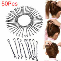12PCS//Bag Hair Grips Hairpins Duckbill Clips For Hairdressing Salon F9F3