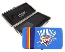 Oklahoma City Thunder Women NBA Authentic Shell Mesh Wallet by Little Earth NEW