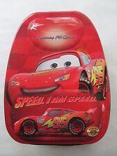 DISNEY CARS LIGHTNING MCQUEEN  95 FORMULA RACER Tin Lunch Box Case Bag *RARE*