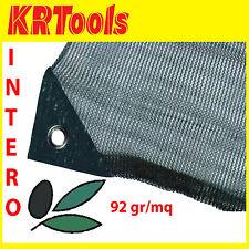 Telo rete raccolta olive antispina s/spacco 92 gr/mq angolo rinforzato occhiello
