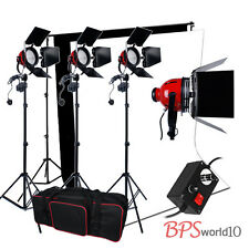 Kit Lighting Red 2400W Dimmer Readhead Backdrops+ Video 2 Stand Background Head