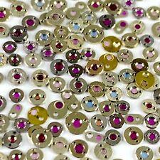 25 Cap Jewels Pocket Watch Settings Watch Parts Steampunk Repair Watchmaker Lot