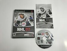 NHL 07 (Sony PlayStation 2, 2006) Complete Tested