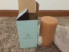 PartyLite C35401 Ginger Pumpkin Pillar Candle 3X5 - New