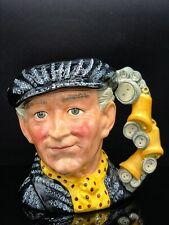 "New ListingRoyal Doulton ""Pearly King"" Large 7 1/4"" - Toby Jug Mug 1986 D6760 - Excellent!"