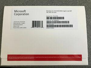 Windows Server 2019 Std X64 EN 1PK DSP DVD (COA) 16Core - 2xCPU - 16 Core